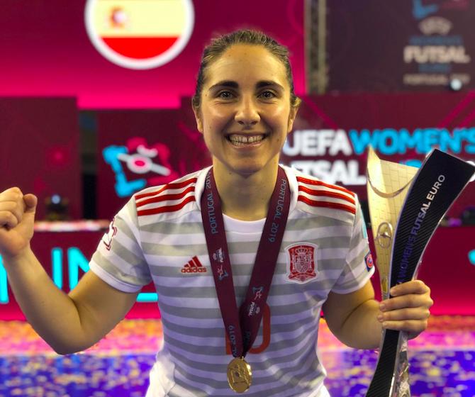 La Historia De Amelia Romero, Campeona De Europa Y Segunda