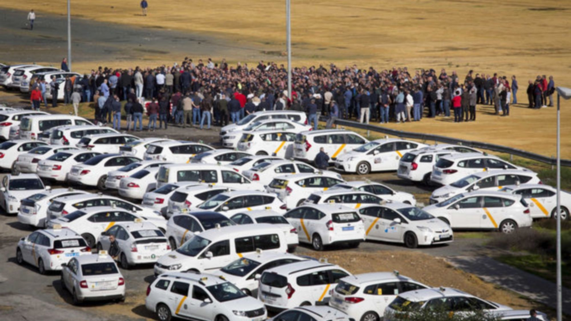 Los taxis de Sevilla no descansan este año 2020