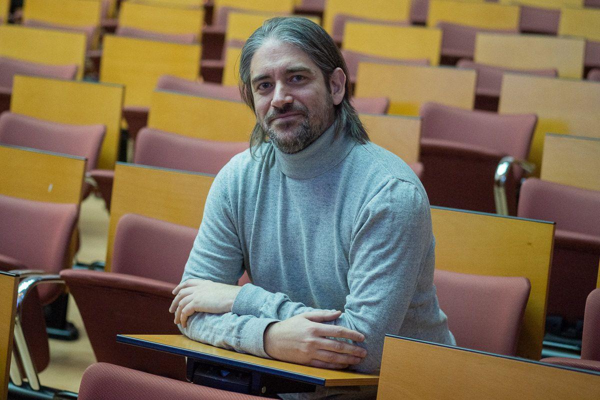 David Selva, doctor en Publicidad y profesor de la UCA. FOTO: MANU GARCÍA