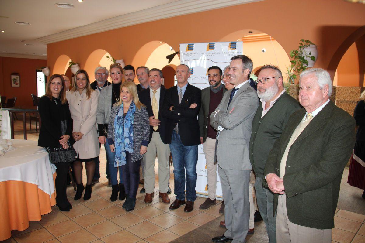 Un momento del evento de presentación de los actos por los 20 años del Parque Empresarial de Jerez