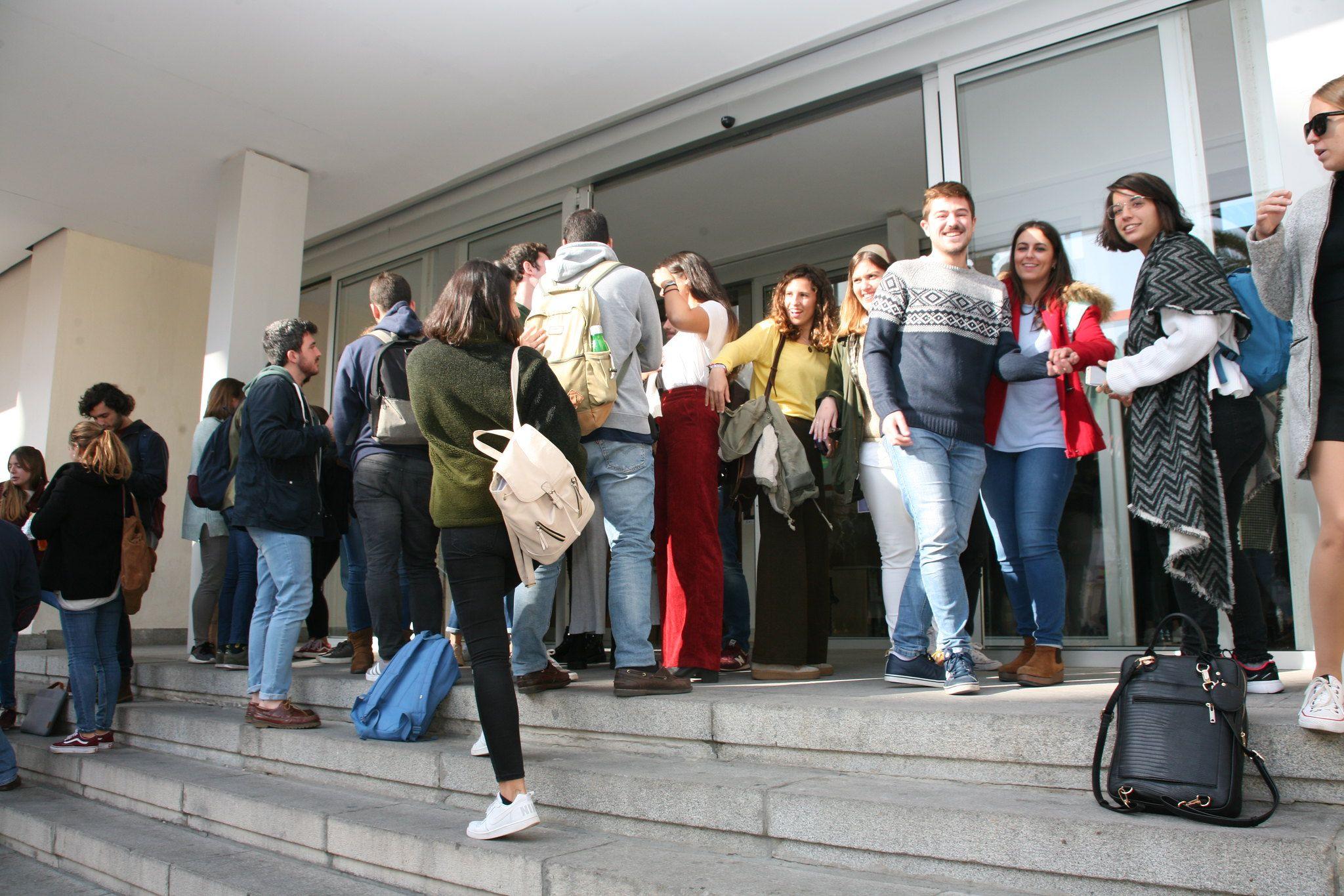 Estudiantes de la Facultad de Medicina de Cádiz, en una imagen reciente. FOTO: UCA