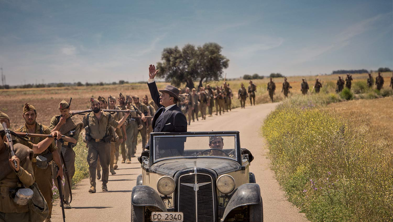 Un fotograma de 'Mientras dure la guerra', la película de Alejandro Amenábar. FOTO: Movistar+