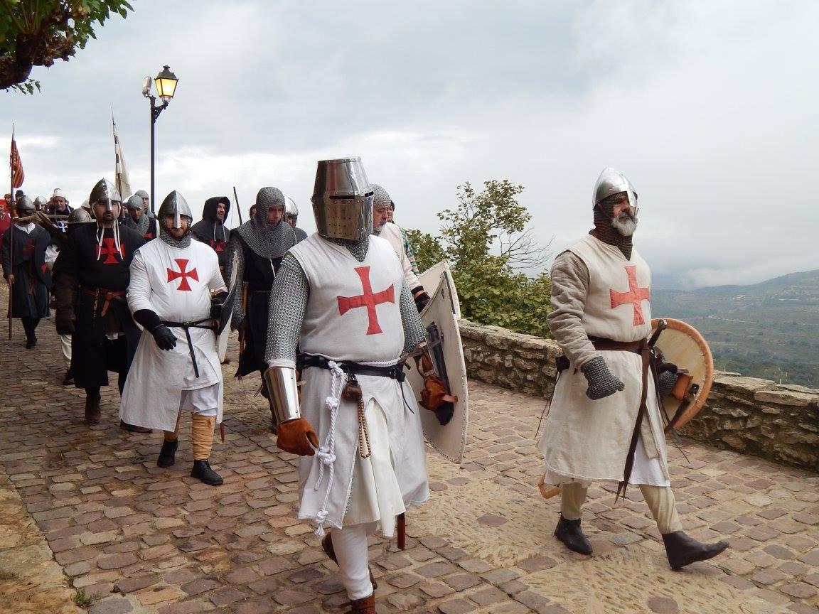 Un Caballero Templario Forma Parte Del Resucitado Observatorio Andaluz De La Violencia De Género
