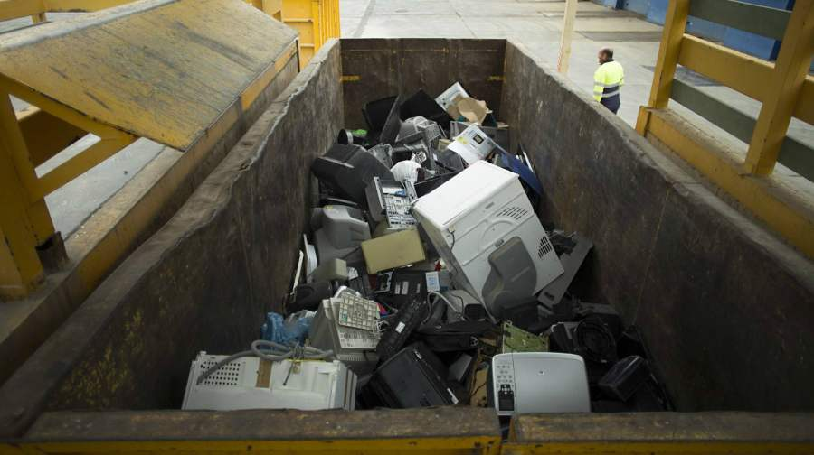 Reciclaje a través de una planta en Sevilla