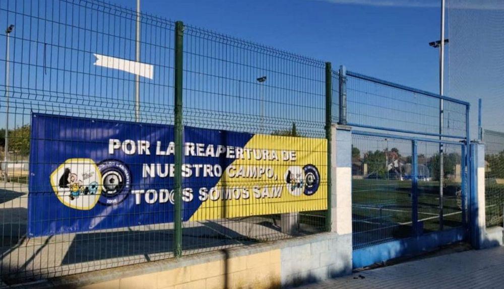 Instalaciones deportivas del colegio San Alberto Magno de Dos hermanas.