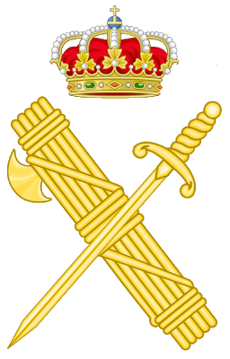 Emblema de la Guardia Civil.