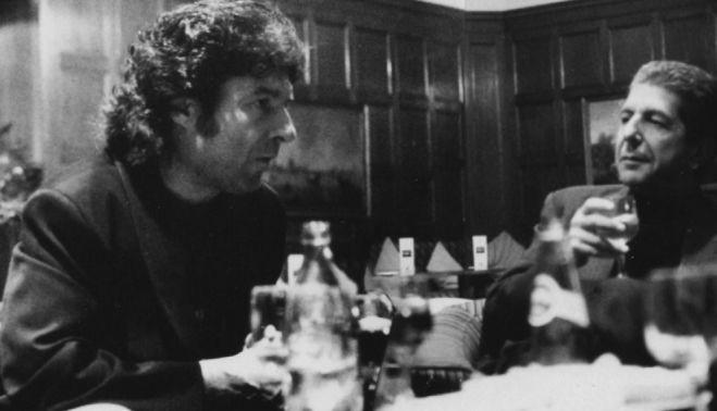 Enrique Morente con Leonard Cohen en uno de los fotogramas de 'Omega', disponible en Filmin