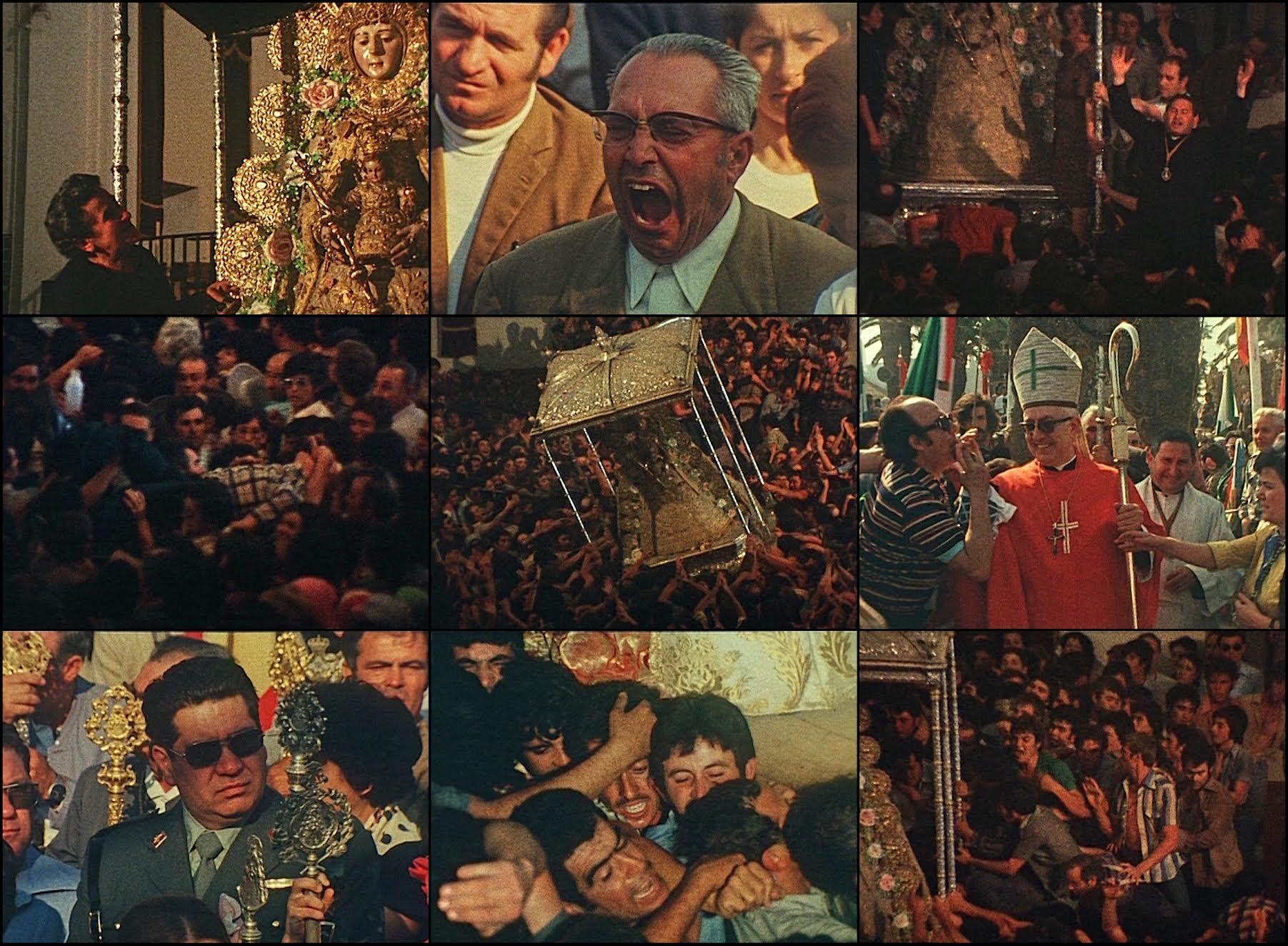 Fotogramas de la película 'Rocío'.
