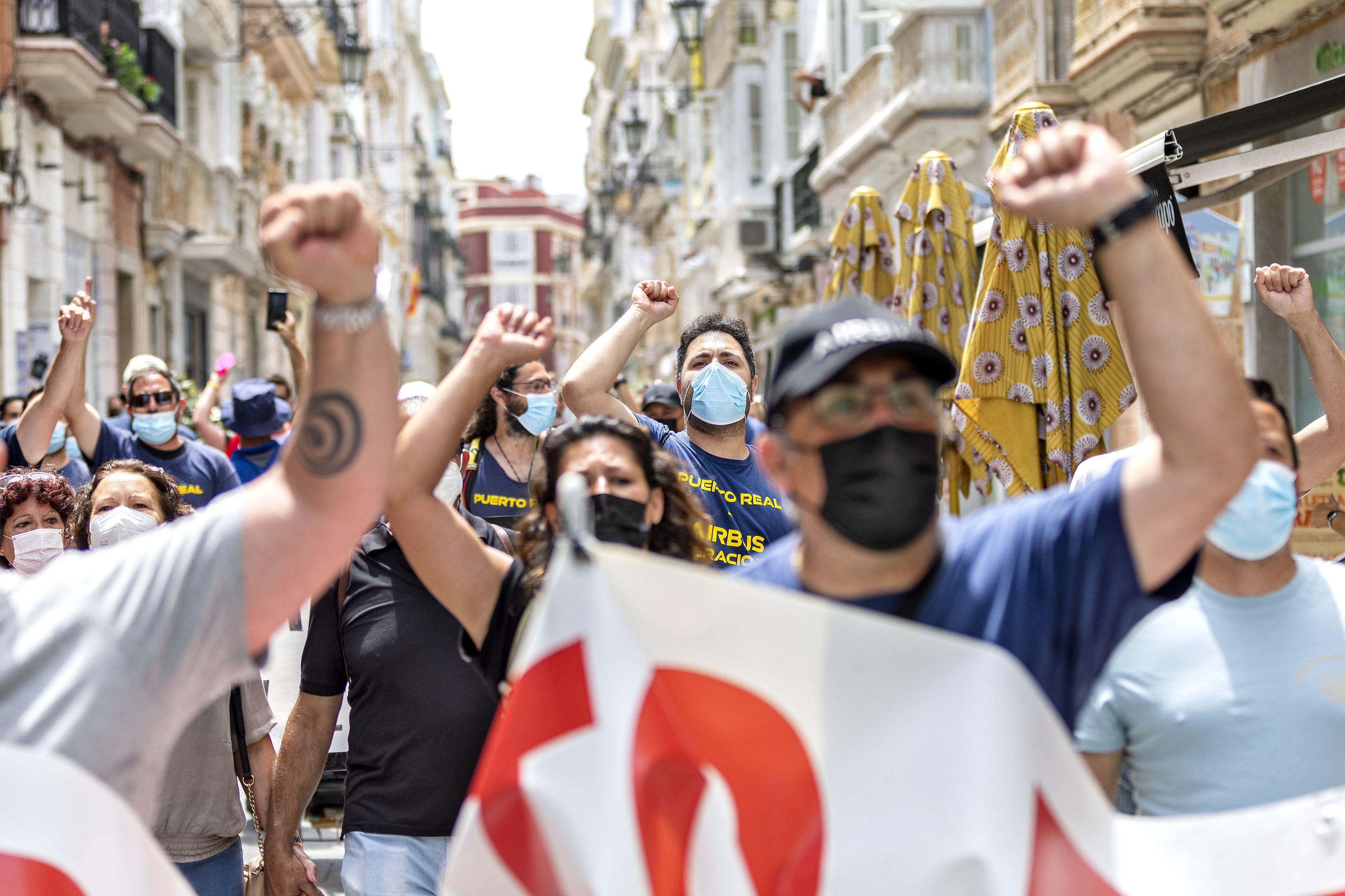 Protesta Airbus Cádiz (Germán Mesa)6