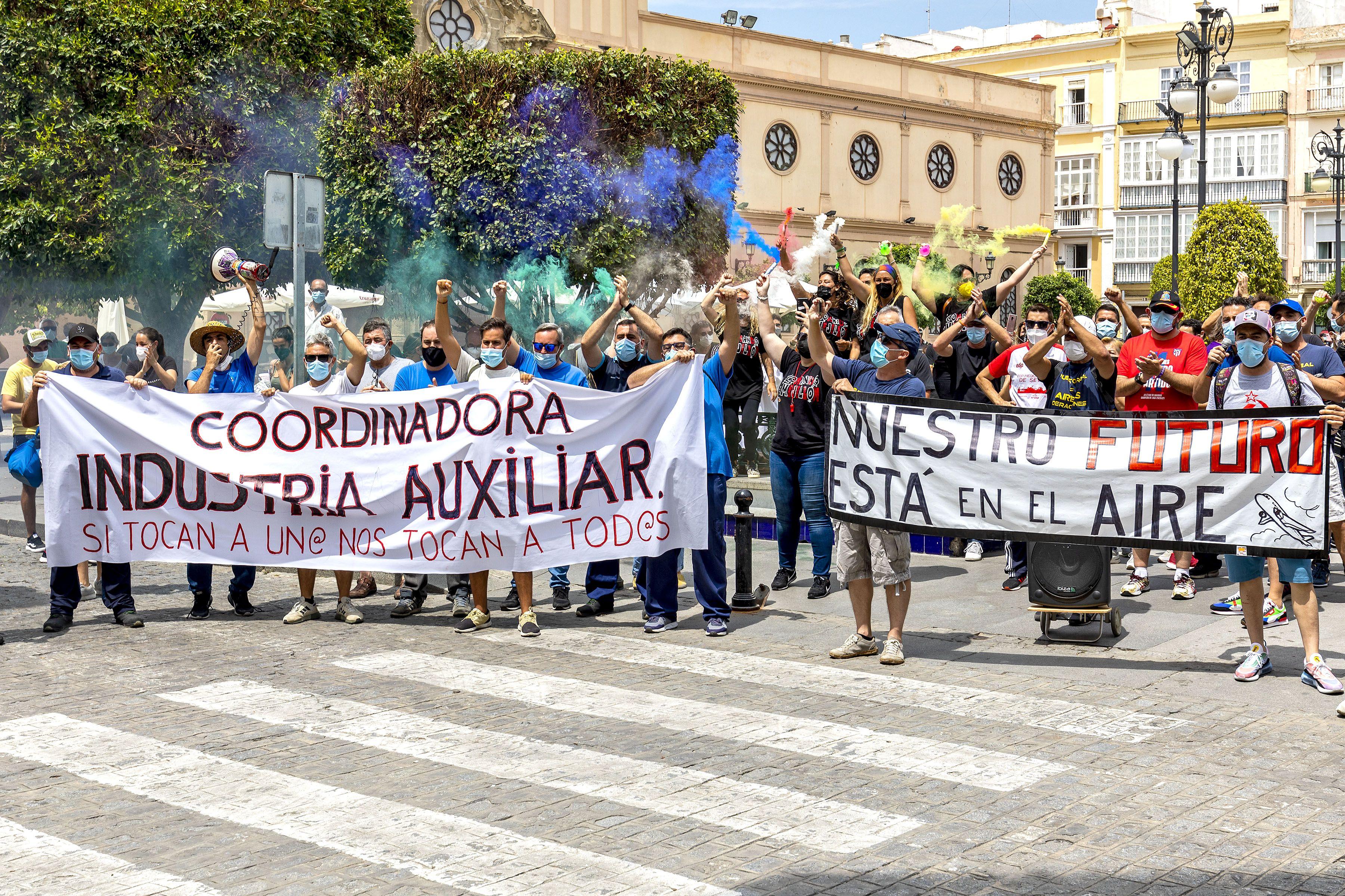 Protesta Airbus Cádiz (Germán Mesa)7