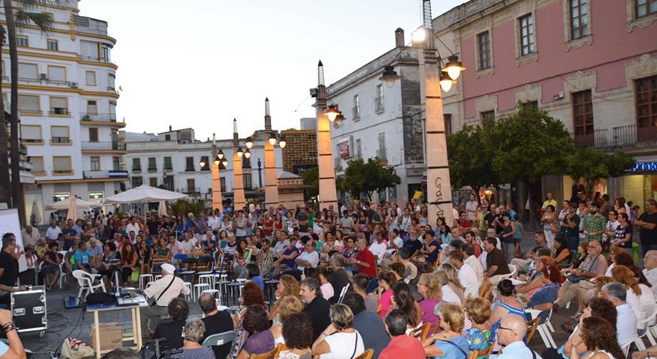 Presentación de Ganemos en Jerez, hace unas semanas. Foto: Alejandro López Menacho.