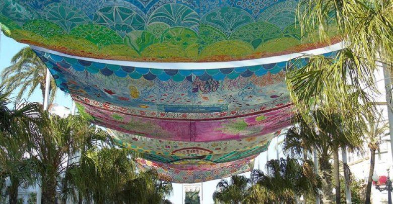 Toldos que dan colorido a san juan de dios for Toldos juan de dios