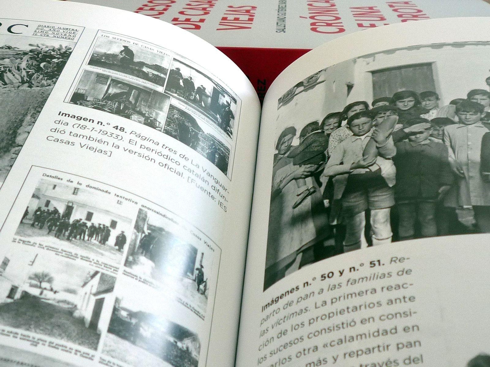 El libro contiene 104 imágenes ampliamente comentadas que suponen un recorrido visual por la iconografía de este episodio y sus pormenores.