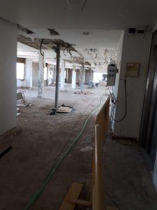 Las obras de la residencia de mayores de Jerez llevan alrededor de año y medio paralizadas.